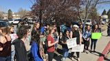 WCSD students walk out on Friday to mark 19th anniversary of Columbine shooting