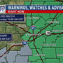 The Weather Authority: Flash Flood Watch for East Alabama