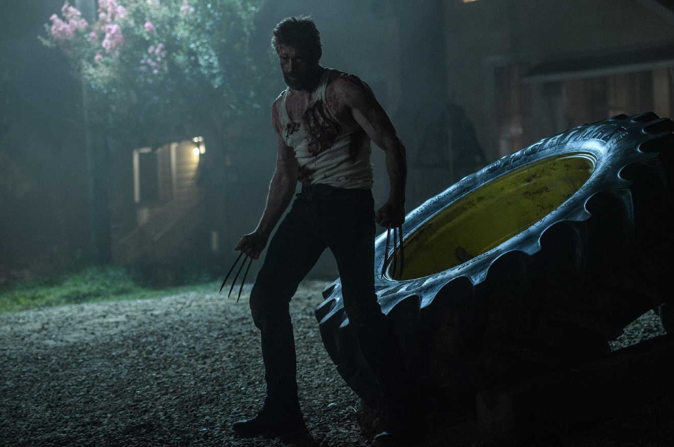Hugh Jackman as Logan/Wolverine in LOGAN. Photo Credit: Ben Rothstein.