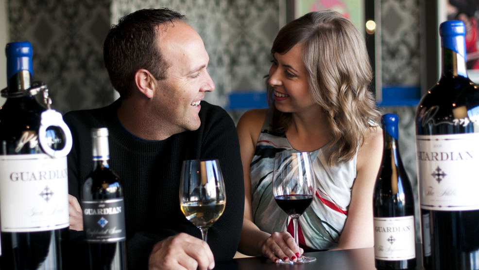 4 Bottles of wine, Tasting for 6 at Guardian Cellars. (Image: Victoria Wright / Guardian Cellars)