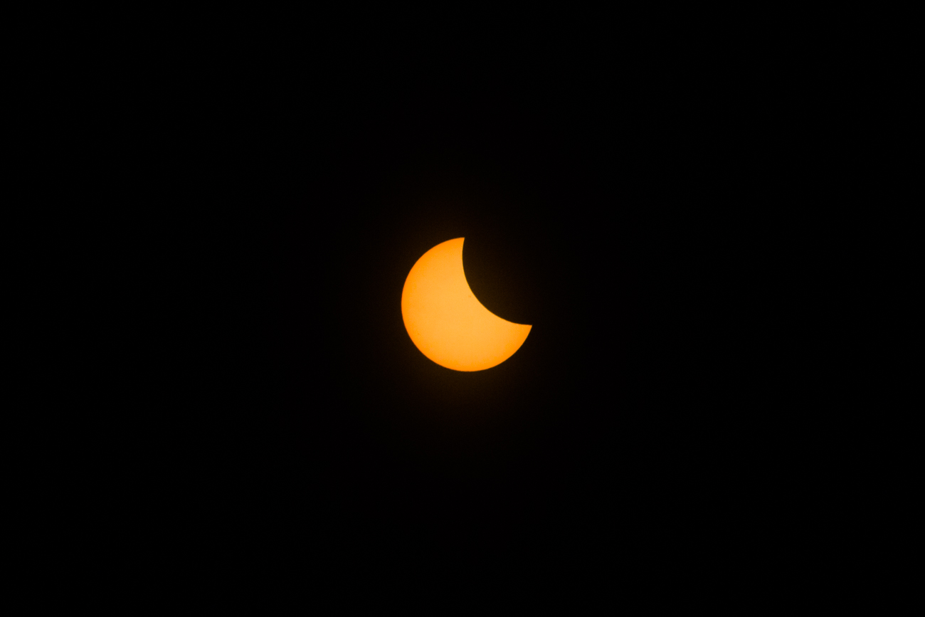 The Great American Eclipse occurred on Monday August 21, 2017 and Hopkinsville, KY was one of the best places in the United States to view the eclipse in totality. Thousands traveled to the town days before the event to bear witness to the celestial phenomenon. Hopkinsville is roughly 270 miles southwest of Cincinnati. / Image: Catherine Viox // Published: 8.22.17