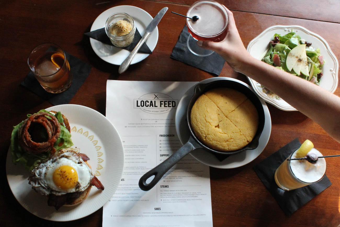 Local Feed is a seasonal restaurant and craft bar. / Image courtesy of Georgetown/Scott County Tourism // Published: 11.1.18