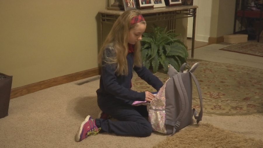 Catelyn Weise was the first girl to sign up for Cub Scouts in Columbia (KRCG 13)