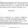 Kirlin family federal lawsuit dismissed