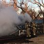 "OKCFD battle ""fully involved"" mobile home fire in southeast metro"