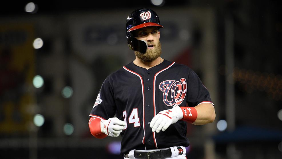 various colors 8c475 e9e14 Report: Bryce Harper spurns Nationals, agrees to 13-year ...