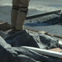 Water main break creates hole on Wabash Avenue