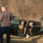 Two injured, one arrested in rollover at Bacon Creek Park