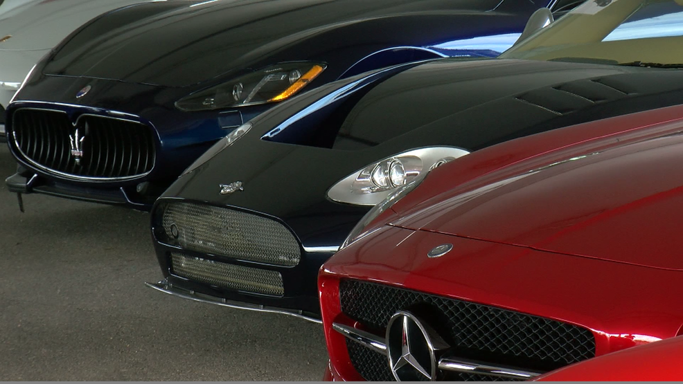 Luxury cars seized in \'pill mill\' up for auction ahead of F1 | KEYE