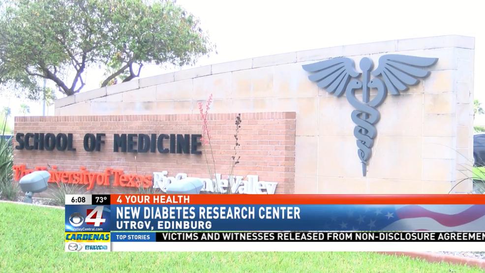 UTRGV plans for new $2 million diabetes research center | KGBT