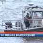 Missing boater body found