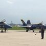 Blue Angels land at EAA AirVenture