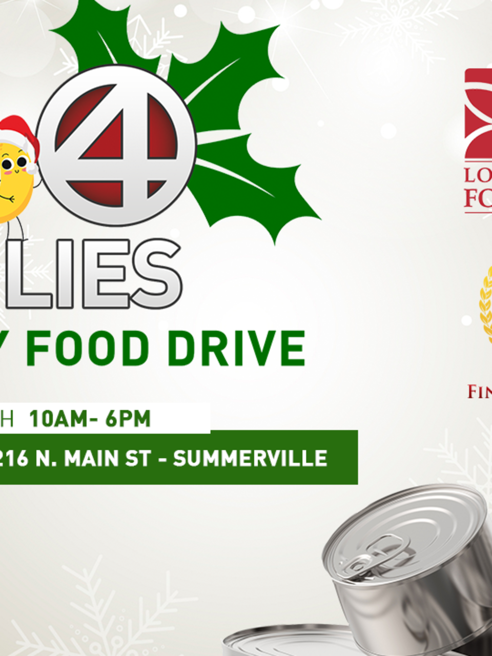 Lowcountry Food Bank And Abc News 4