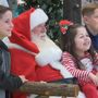 Santa Clause arrives at Westgate Mall