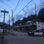 UPDATE: Road re-opens after utility pole is removed