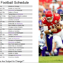 FOX NFL SCHEDULE- KPTH FOX 44