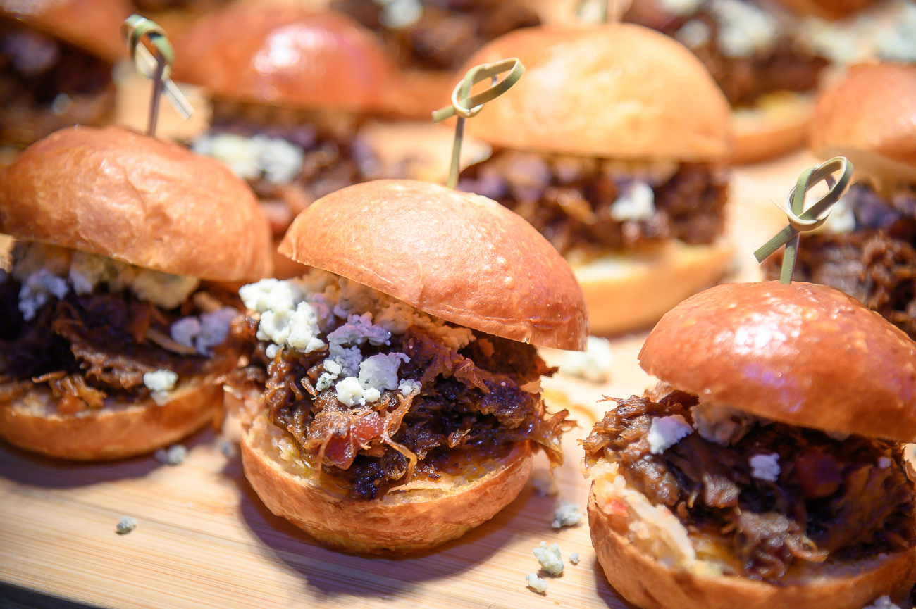 Bourbon Short Rib Sliders{ }/ Image: Phil Armstrong, Cincinnati Refined // Published: 1.24.20