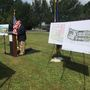 Ground broken on new library in Carolina Park