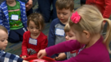 NBC 24's weather team meets with some little learners
