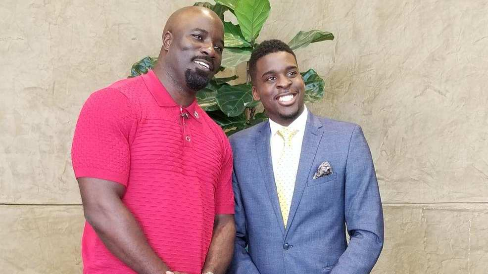 sweet christmas luke cage talks one on one with our fraendy clervaud