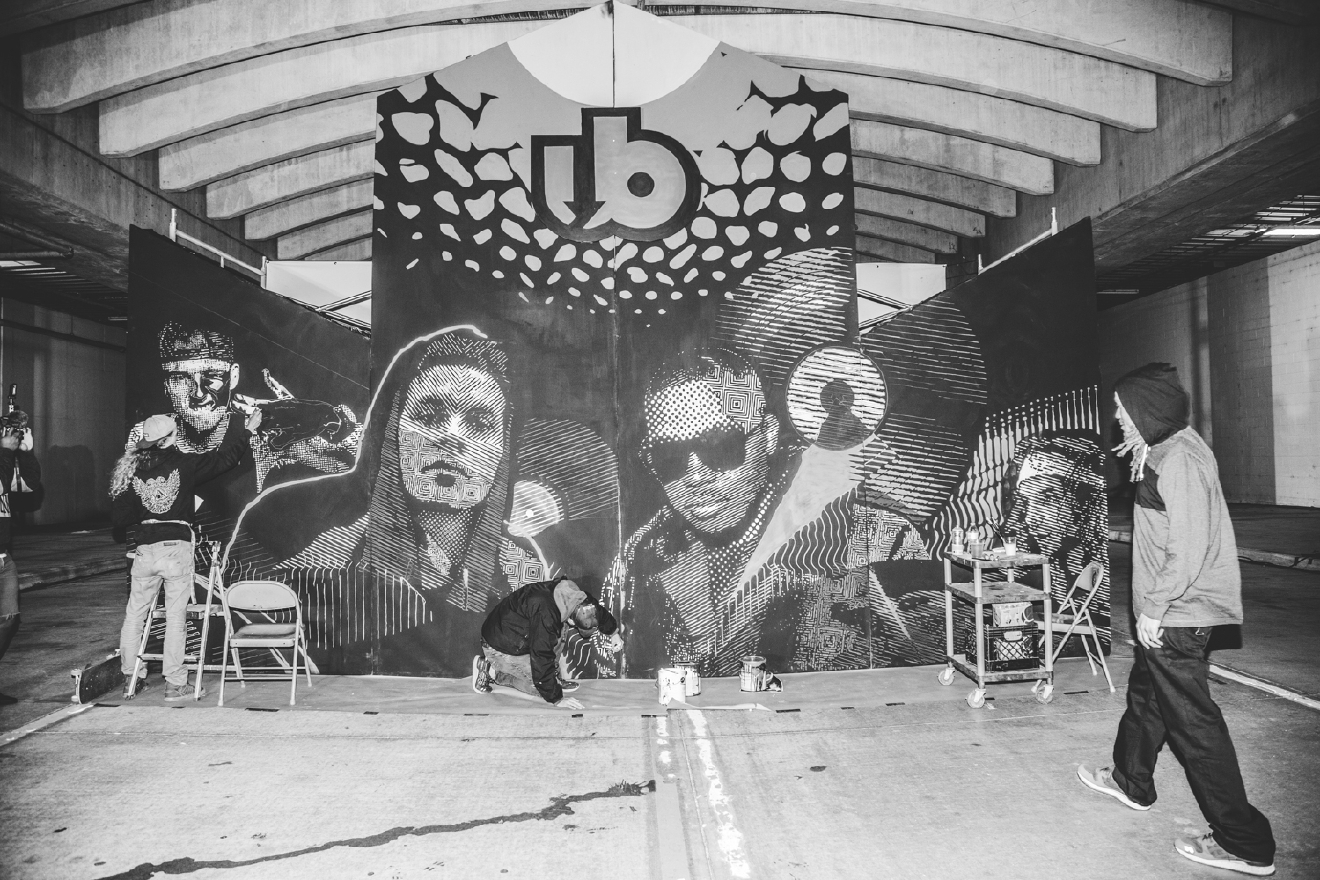 Ubahn Fest is a two-day underground music festival located in the Riverfront Transit Center. Headliners include Nas, Atmosphere, Girl Talk, and Machine Gun Kelly. / Image: Catherine Viox // Published: 10.21.16