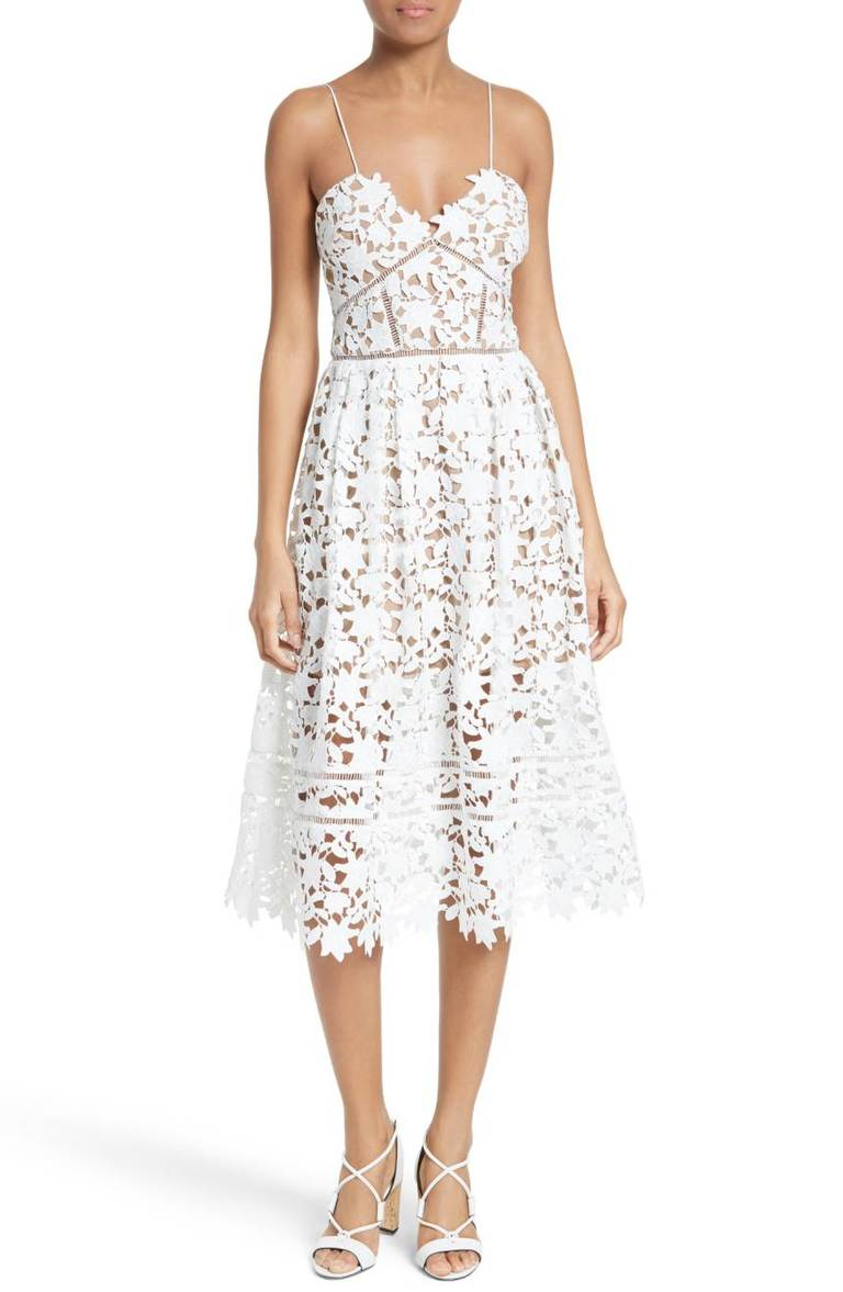 Self-Portrait Azaelea Lace Fit & Flare Dress, $500, Nordstrom.com (Image: Courtesy Nordstrom)