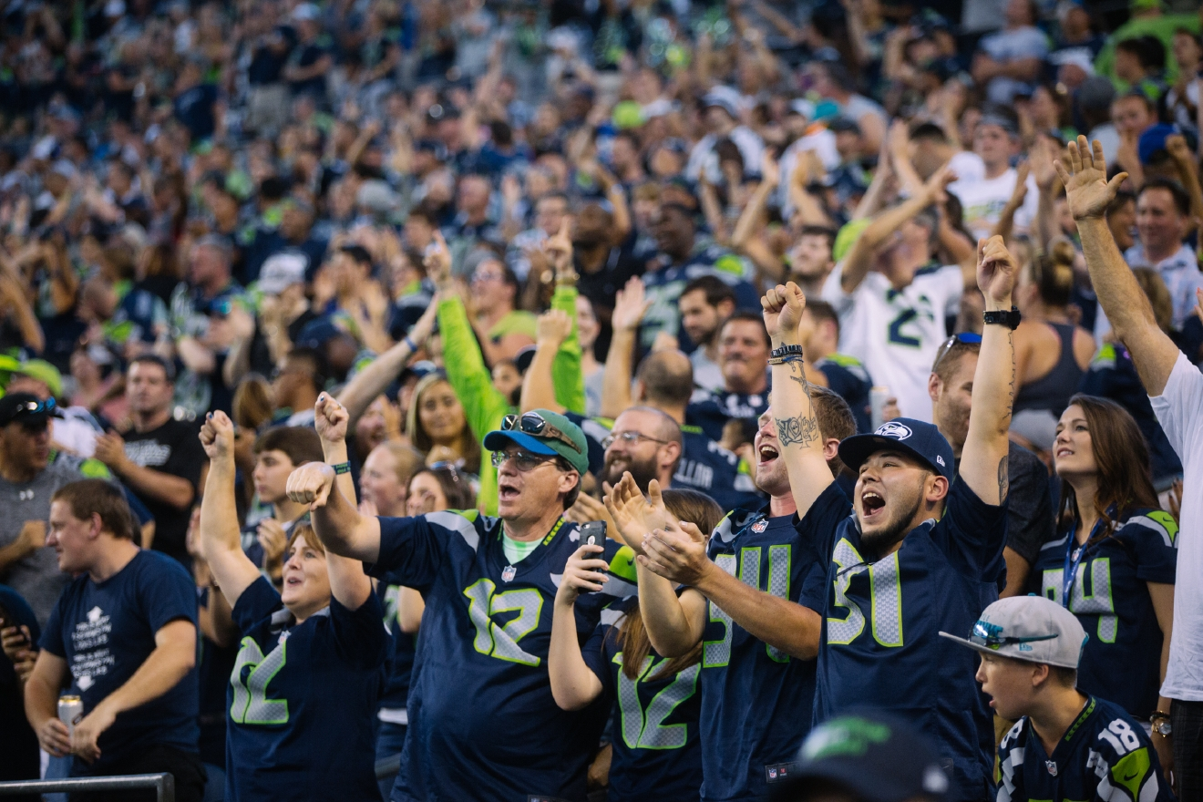 7 Top Tips For Throwing A Grand Party In A Small Home: Game Time, Fan Time: Seahawks Vs. Cowboys