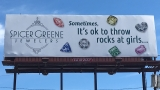 Protest planned over jewelry store's controversial billboard