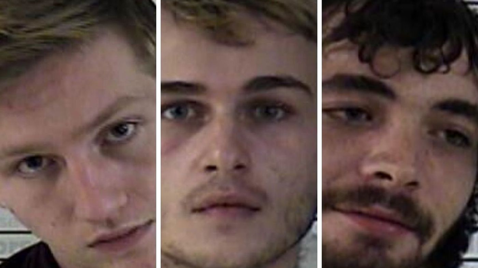 3 arrested on burglary, wanton endangerment charges (Source - Graves County Jail).png