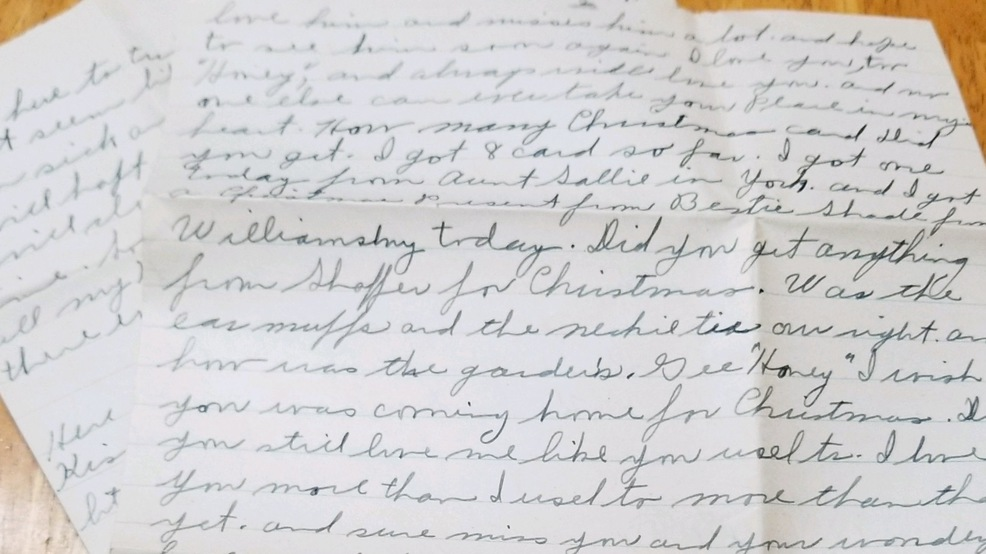 Woman Connects World War Ii Letters From Blair County To