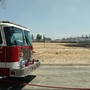 Grass burns near Target store in Bakersfield