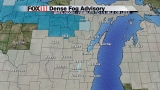 Dense Fog Advisory continues until Sunday at noon