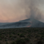 Hollywood Fire southeast of Pyramid Lake reaches 4,500 acres, 50% contained
