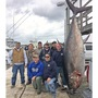 Fisherman breaks NC record by reeling in 877 pound tuna