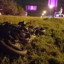Man takes off after high-speed motorcycle chase, crash in south Tulsa