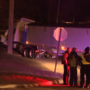 Semi truck driver dead after a medical emergency behind the wheel