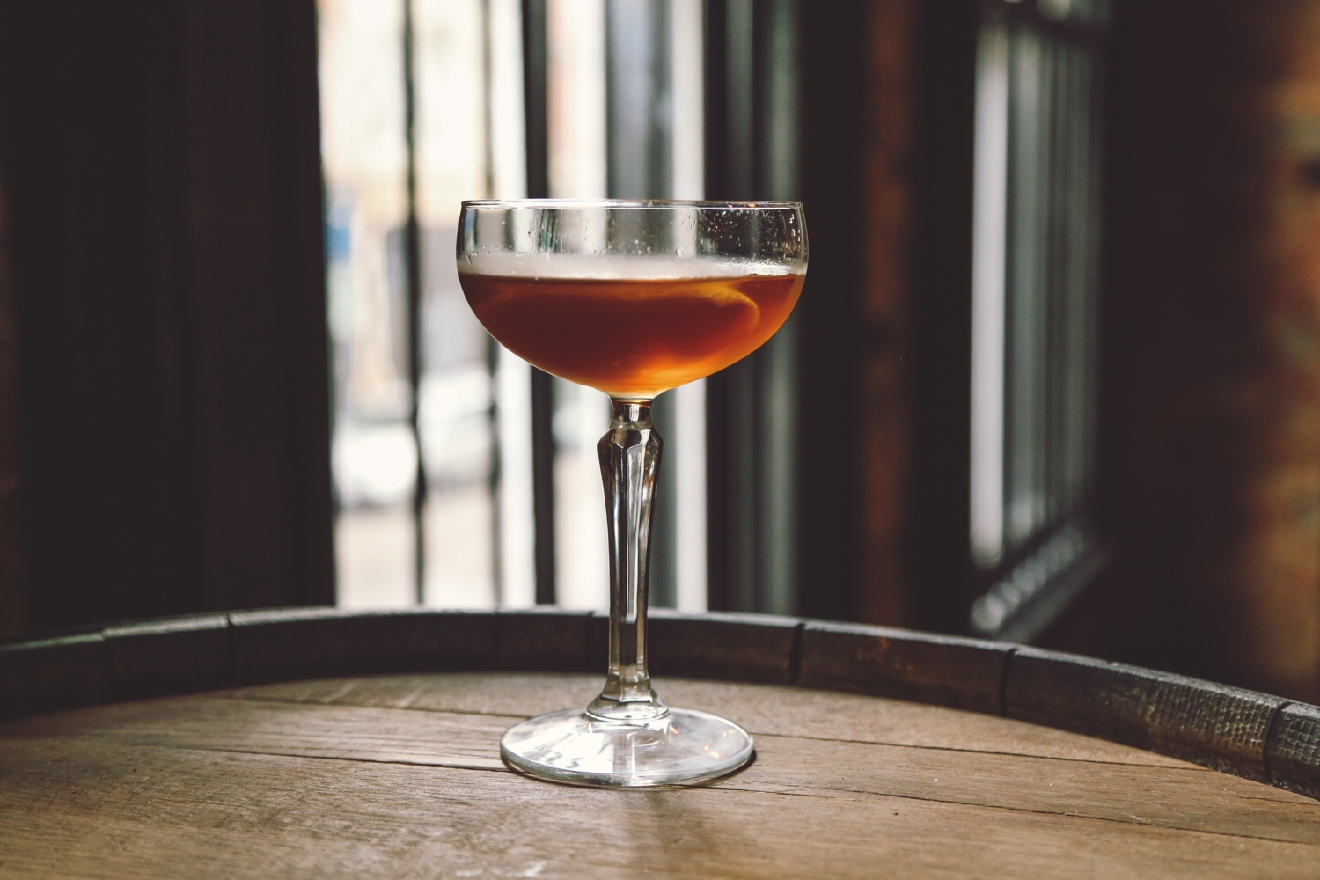 The Colonel Taft, an award-winning whiskey cocktail / Image: Catherine Viox