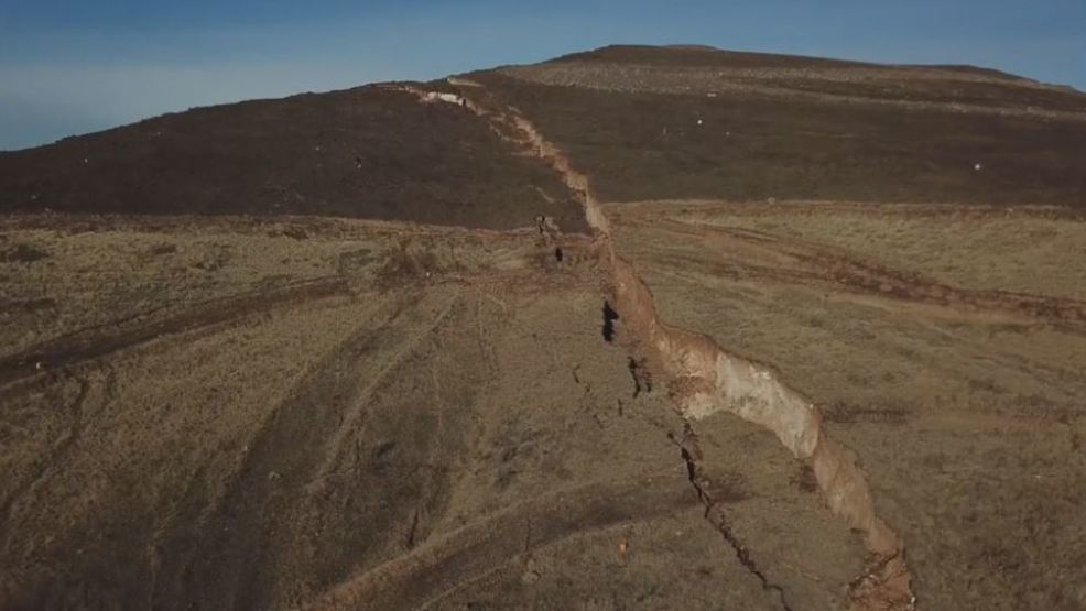 Drone flyover offers latest look at Rattlesnake Ridge ...