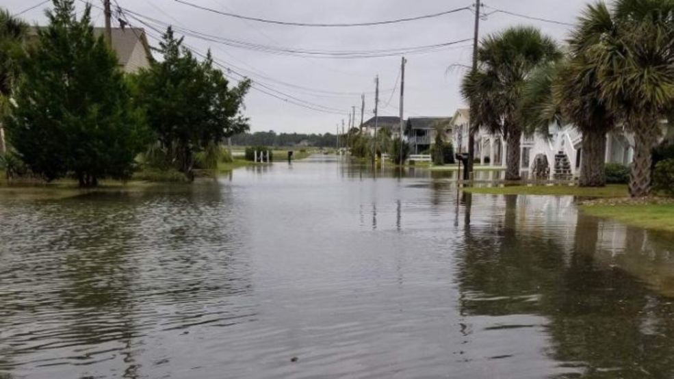 Gallery High Tide During Irma Brings Coastal Sc Flooding Wpde