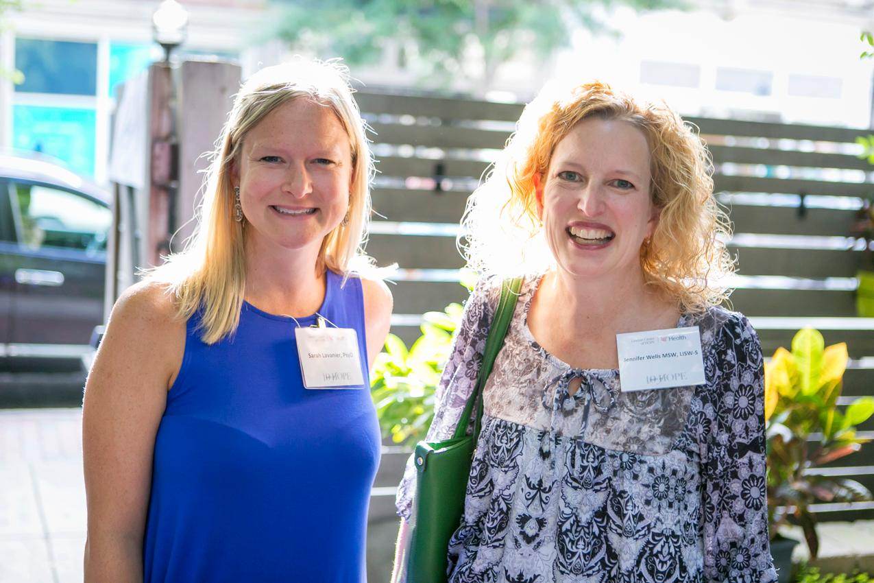 Sarah Lavanier and Jennifer Wells{ }/ Image: Mike Bresnen Photography // Published: 8.6.17