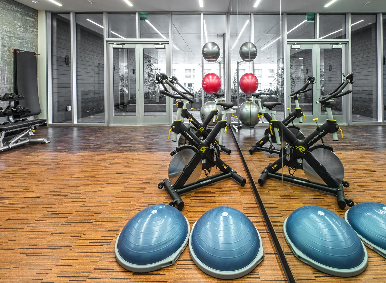 Perfect Half-Moon, reach for Bird of Paradise or finally attempt Crow in AMLI Arc's dedicated Yoga Studio.<p></p>
