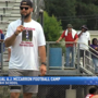 AJ McCarron holds 4th annual football summer camp for kids in Mobile