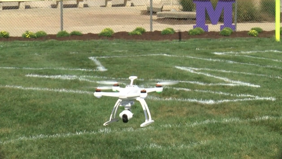 Saturday Night Rivals Monticello High School Using Drones For Class