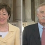Collins, King split over Republican plan to avoid shutdown