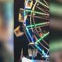 Ferris wheel accident caught on camera