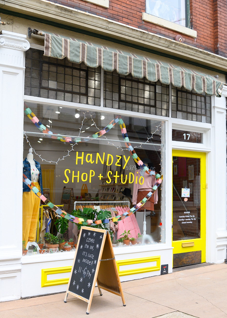 Though Handzy Shop + Studio has been around for years, owners Brittney Braemer and Suzy Strachan have evolved the focus of the shop and studio over time, even moving it one door down from its previous location on Pike Street in Covington in November of 2019. If you've never been inside the shop, you'll find all manner of women's clothes, accessories, stationery, gifts, and small home goods for sale from both local and national vendors and artists, and from brands located abroad. ADDRESS: 17 W. Pike Street (41011) / Image: Phil Armstrong, Cincinnati Refined // Published: 12.18.19