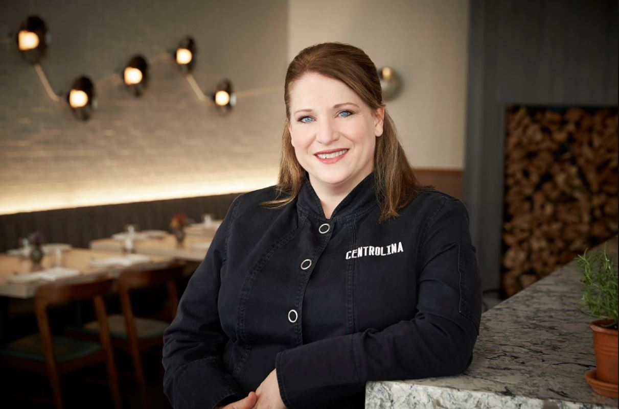 Amy Brandwein of Centrolina is a finalist in the Best Chef: Mid-Atlantic category. Winners will be announced at the JBF Awards Gala on May 6. (Image: Greg Powers)