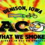 """Bacon: It's What We Smoke Here"" theme for RAGBRAI Day 2"