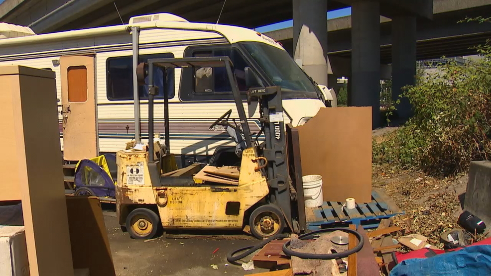 Businesses: Seattle lacks plan for RV 'homesteaders' as rats
