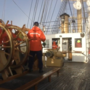 Trainees learn steering, lingo aboard tall ships